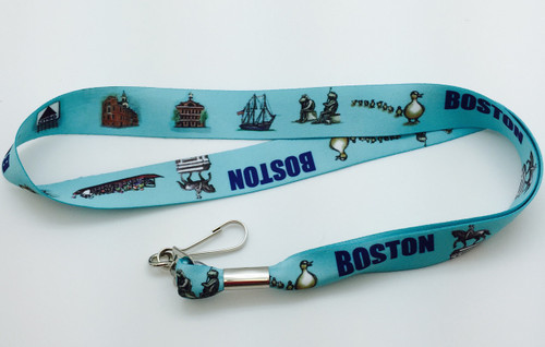 Boston Landmark Lanyard