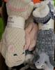 5 SETS = 11pc JANE BLEEKER Slipper Socks #15194R (n-1-3)
