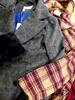 5pc Peacoats & Double Breasted Coats #15909KY (d-1-2)