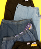 5pc GRAB BAG Comfort Waist PULL ON JEANS #16048G (f-1-3)