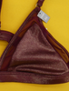18pc VS PINK Metallic Bralettes XS #16304A (k-5-4)
