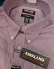 22pc MENS Kirkland Button-Up Shirts #16899Q (h-3-6)