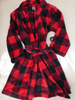 11pc KIDS Holiday Robes & Matching Footed PJs #16969u (m-3-6)