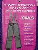 3pc GRAB BAG GIRLS Snow / Ski Pants #17133e (m-1-2)