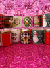 37pc CHRISTMAS Holiday Votive Candles #17149G (p-3-3)