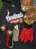 12pc MENS St Louis CARDINALS MO #17162H (v-3-1)