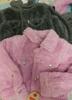 24pc BABY Levi Faux FUR COATS #17230j (N-5-1)