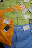 15pc CELEBRITY PINK Neon DARE YOU Shorts Jeans #17501c (F-4-6)