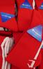 4 Pairs Grab Bag CHAMPION Sports Socks RED #17974w (Q-4-1)