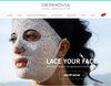 16pc of Dermovia LACE YOUR FACE Facial Masks #18395u ()