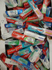 70pc Designer TOOTHPASTE Shelf Pulls #18359B (PS)