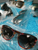 10prs Grab Bag BIG BRAND Sunglasses Chole Armani Jimmy Choo BURCH Valentino #19951EF (XX/K-3-3)