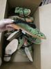 6prs Grab Bag FREE PEOPLE Fur Lined SLIDES Shoes GREEN #20072J ()