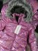 9pc Girls *ONLY CK* Pink Hologram Coats #22031J (L-1-2)