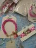19pc PINK RIBBON Womens Bracelets ~ 2 STYLES! #22501J (Q-2-4)