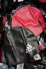 30pc ADIDAS Kids Swim Caps PINK & BLACK #22576N (Y-4-3)