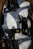 40pc ADIDAS Adult 3D Molded Swim Cap WHITE & BLACK #22579N (Y-2-5)