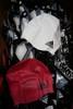 47pc ADIDAS Adult Swim Caps PINK & WHITE #22580N (X-5-5)