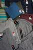 50pc Grab Bag Mens HANES Tees Short & Long Sleeve #23139T (u-2/3/4-6)