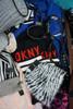 31pc Womens DKNY Scarves BELTS #24088c (Q-5-3)