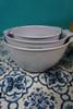 2 SETS = 6pc KitchenAid Mixing Bowl w/ Pour Spout Set LILIAC #24199J (O-5-5)