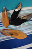 12prs KATY PERRY Suede Block Heel Shoes ~ 2 Colors #24245L (H-4-2)