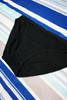 30pc Victorias Secret Black Bikini Panty XL #24268P (Z-1-2)