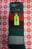 15prs AlfaTech Alfani Repreve Socks GRN / RED/ MULTI #24434A (I-1-3 )