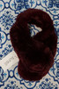 4pc SURELL Real Fur Neck Warmers & Scarves #24554K (  X-3-3)