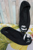 28pc $784 in QVC Dennis Basso Slippers BLACK SMALL #24586L ( g-5-4)