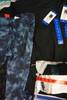 22pc Womens DANSKIN Activewear SHORTS & LEGGINGS #24641Q ( Z-7-2)