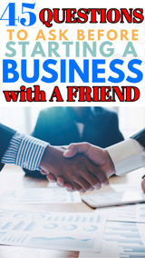 45 Questions to Ask Before Opening a Business with a Friend
