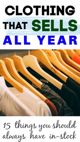 Best Clothing Items to Sell All Year Long! Trans-Seasonal Dressing