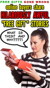Online Buyers Share 10 Hilariously AWFUL Free Gift with Purchase Items