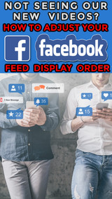 Not Seeing Our Videos on Facebook? How to Adjust Your Feed Settings