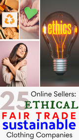 List of 25 Ethical, Sustainable and Fair Trade Designer Clothing Manufacturers