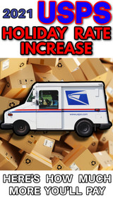 Online Sellers: USPS Announces Temporary Postage Rate Increase