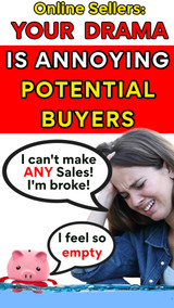 Online Sellers: Your Personal Drama is Annoying Your Social Media Followers!