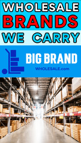 Wholesale & Liquidation Brands We Carry