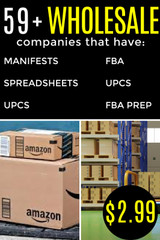 BIG List of Wholesale Companies that Have Spreadsheets / UPC / Dropshipping & More
