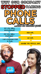 Why We No Longer Have a Phone Number for Customer Calls (and You Shouldn't Either!)
