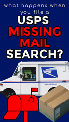 What Happens When You File a USPS Missing Mail Search?