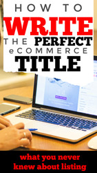 How to Write the PERFECT Product Listing Title - eCommerce