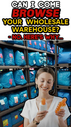 5 Reasons Why You Can't Come in And Shop or Browse Our Warehouse