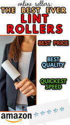 Online Sellers: The BEST Lint Rollers on Amazon