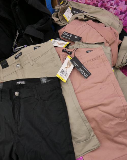 16pc BUFFALO Bermuda Shorts Size 4 6 8 #15114M (q-1-7)