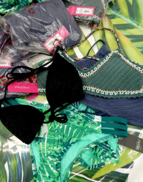 8pc GRAB BAG Bikini Separates #15184Q (L-2-1)
