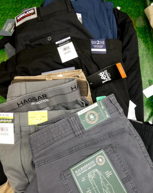 10pc MENS *SIZE 38* PANTS Shorts #15242T (j-5-4)