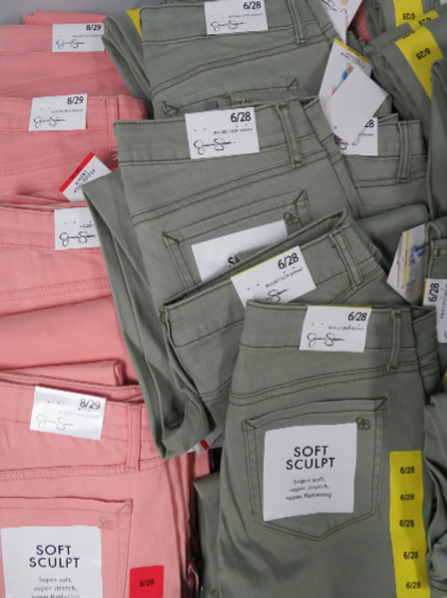 9pc Grab Bag JESSICA SIMPSON Jeans #15325Y (i-2-4)