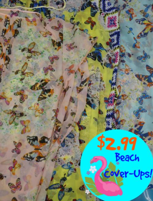 20pc GRAB BAG $2.99 Beach Coverups #15357z (m-2-5)